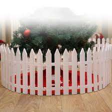 Christmas Fence Decorations Uk