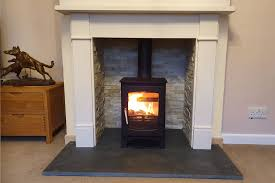 fireplace renovation and woodburner