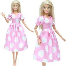 Hot Thời Trang Thủ Công Đảng Cao Cấp Phụ Kiện Cài Áo Quần Áo Cho Búp Bê  Barbie Vải Giáng Sinh Đồ Chơi Bé Gái Quần Váy 087 