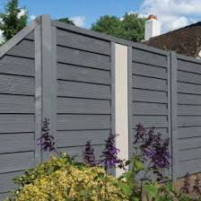 Rowlinson 6 X 6 Palermo Grey Fence Panel 1 8m X 1 8m Buy Sheds Direct