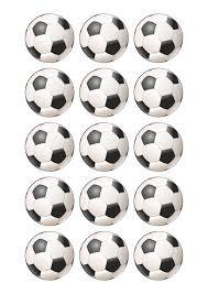 Papel De Azucar Balones De Futbol