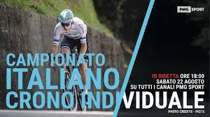 Campionato Italiano Ciclismo Pro - Prova a Cronometro - YouTube