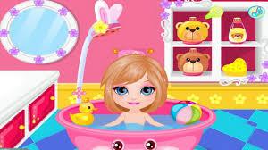 barbie cute baby games