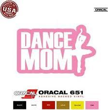 Dance Mom Car Window Laptop Vinyl Decal Sticker U Choose Color Size
