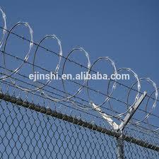 China Hot Dipped Galvanized Steel Razor Blade Barbed Wire For Sale China Razor Barbed Wire Concertina Razor Wire