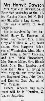 Myrtle Gray Death - Newspapers.com