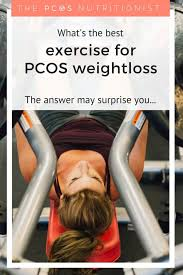 exercise for pcos how to start losing