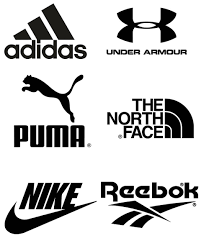 Sports Brand Stickers Adidas Nike Puma Vinyl Decals For Shop Windows Etc Site Centric Design