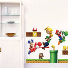 Super Mario Decal For Kids Room American Wall Decals