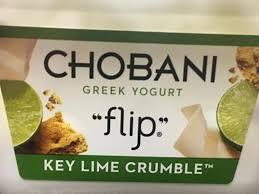 flip greek yogurt key lime crumble