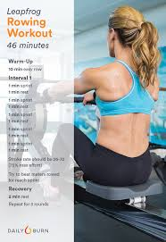 3 rowing machine workouts for strength