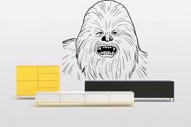 Chewbacca Star Wars Chewie Vinyl Wall Art Sticker Movie Decal Bedroom