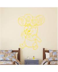 Check Out Deals On Winnie The Pooh Balloon Wall Decals Decal House Color Yellow