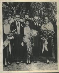 1936 Press Photo Wesley Ruggles Arline Judge Marriage Richard Hyland |  Historic Images