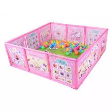 Foldable Baby Playpen Fence Pool Crib Square Lazada Ph