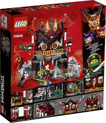 70643 LEGO® NINJAGO Temple of the resurrection