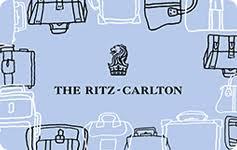 ritz carlton gift cards at a