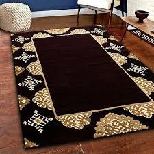 area rug nwprt 86 modern burdy gold