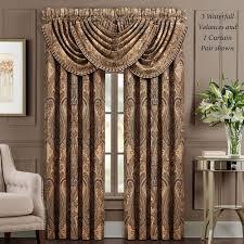 luciana damask lined window treatment