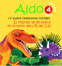 Tarjetas De Invitacion De Dinosaurios Para Imprimir Imagui
