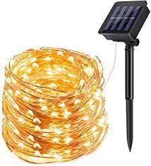 solar fairy lights outdoor ecowho 200