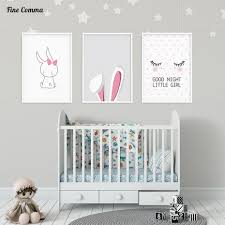Nordic Style Poster Girl S Room Pictures Posters Prints Scandinavian Wall Art Canvas With Free Shipping Worldwide Weposters Com