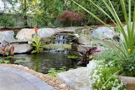 Ponds Waterfalls And Water Gardens Ponds Backyard Pond Fountains Water Garden