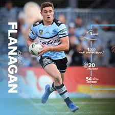 Young Sharks playmaker Kyle Flanagan ...