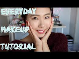everyday makeup tutorial asian hooded