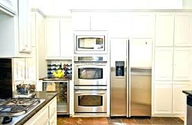 double wall oven and microwave