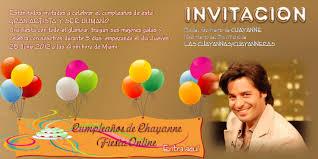 Ven Y Celebra El Cumpleanos De Chayanne Pasion