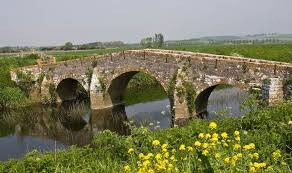 An old pack horse bridge on a drovers route from Ilchester, Somerset. |  British isles, England, Republic of ireland