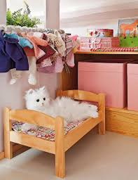 Wonderful Kids Room With Cat Beds Homemydesign