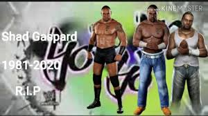 WWE SHAD GASPARD 1ST THEME SONG R.I.P 😪 - YouTube