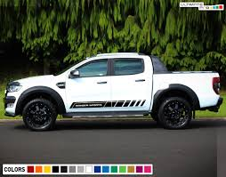 2x Decal Sticker Graphic Side Stripe Kit Compatible With Ford Ranger T6 2011 2017 Ultimateprocy