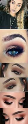 glam makeup tutorial for blue eyes