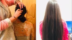 شعرك سيصبح حريري بدون توقف جربتها أمامكم شعر طويل وقوي وحريري