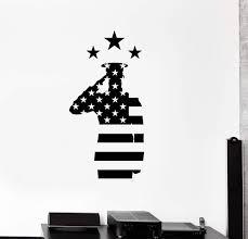 Vinyl Wall Decal Veterans Day Usa Flag Soldier Patriotic Art Decor Sti Wallstickers4you