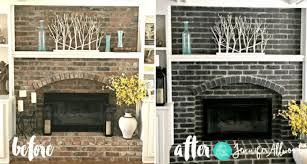 12 stunning black brick fireplace
