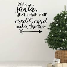 Christmas Wall Decal Dear Vinyl Decor Wall Decal Customvinyldecor Com