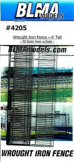 Ho Scale Blma 4205 Wrought Iron Fence 415714694
