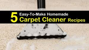 5 easy to make diy carpet cleaner recipes