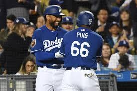 Matt Kemp bats 6th in Dodgers opening day lineup