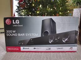 lg 300w sound