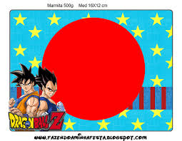 8 Info Dragon Ball Z Party Printables Download Zip Pdf Printable