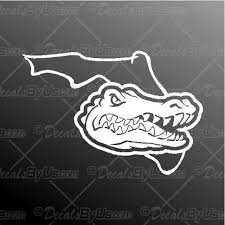 Gator Florida Decal Gator Florida Car Sticker Best Prices