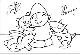 Kleurplaat Pompom Huisdieren Dieren Dieren Huisdieren En