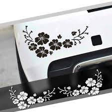 2 Plum Blossom Car Window Decal Flower Stickers For Women Floral Auto Vinyl New Ebay