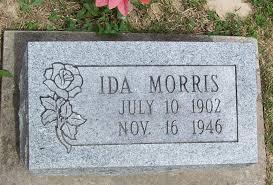 Ida Morris (1902-1946) - Find A Grave Memorial
