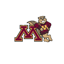 Auto Graphs Leaning Goldy Auto Decal University Of Minnesota Bookstores
